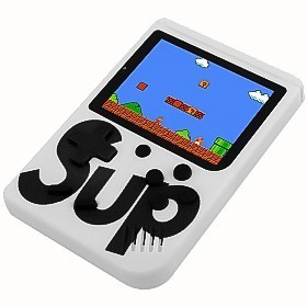 Video Game Portatil 400 Jogos Internos: Mini Game Sup Game Box Plus - PSP RETRO FLIPERAMA ( Branco )