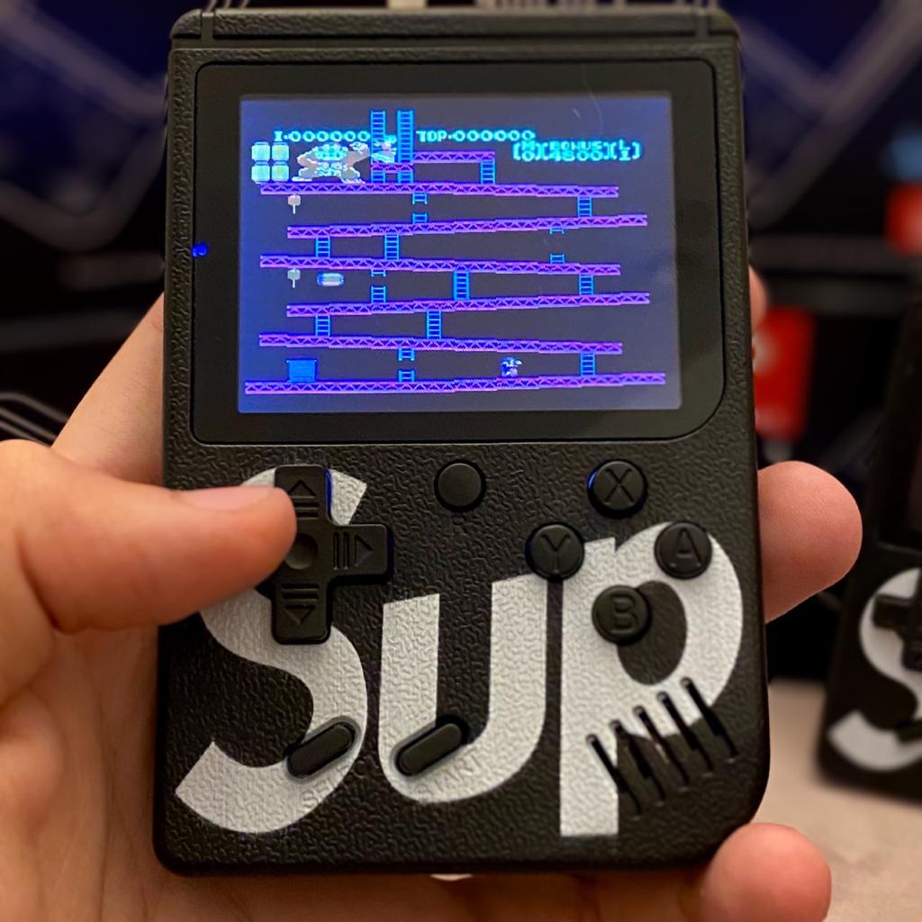 Video Game Portatil 400 Jogos Internos: Mini Game Sup Game Box Plus - PSP RETRO FLIPERAMA ( Preto )