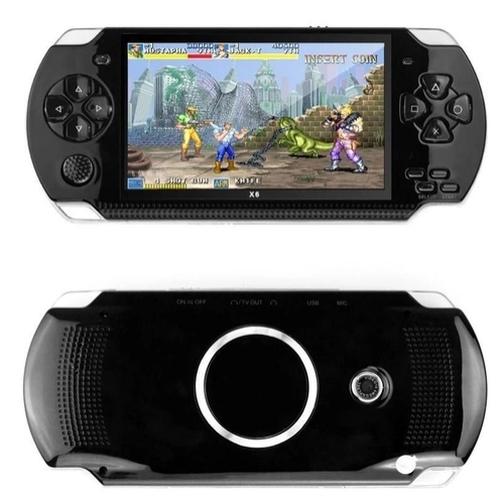 Video Game Retro Portatil: Psp Jogo Nes Mini Fliperama Tela 4.3 Preto - Knup