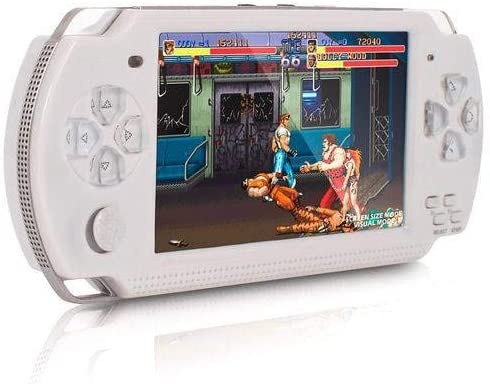 Video Game Retro Portatil: Psp Jogo Nes Mini Fliperama Tela 5.1 ( Branco ) - Eony
