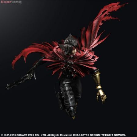 Vincent Valentine Final Fantasy VII Advent Children - Play Arts Kai