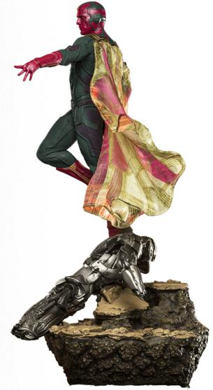 Estátua Visão: Vingadores: Era de Ultron Diorama Escala 1/6 - Iron Studios - CD