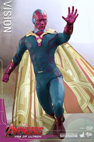 Action Figure Visão (Vision): Vingadores Era de Ultron (Age of Ultron) Escala 1/6 (MMS296) - Hot Toys - CDL