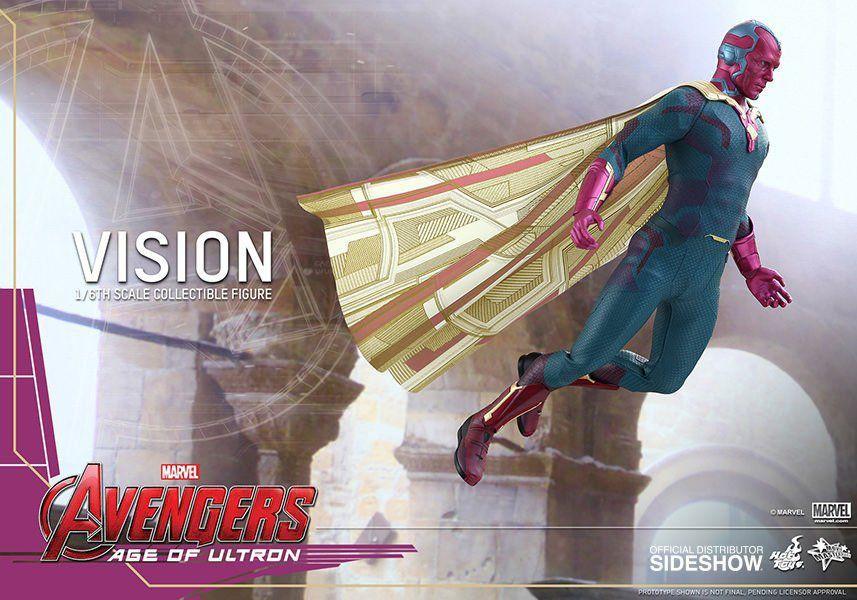 Action Figure Visão (Vision): Vingadores Era de Ultron (Age of Ultron) Escala 1/6 (MMS296) - Hot Toys