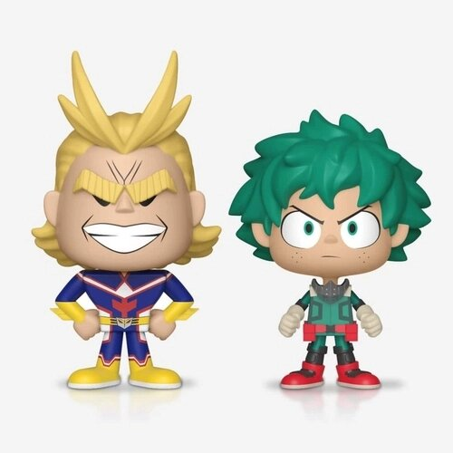 Funko Vynl All Might e Deku: My Hero Academia - Funko
