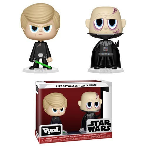 Funko Vynl Luke Skywalker e Darth Vader: Star Wars - Funko