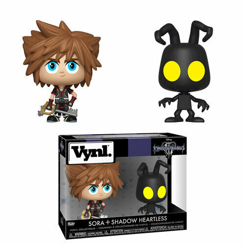 Funko Vynl Sora e Shadow Heartess Kingdom Hearts Disney - Funko