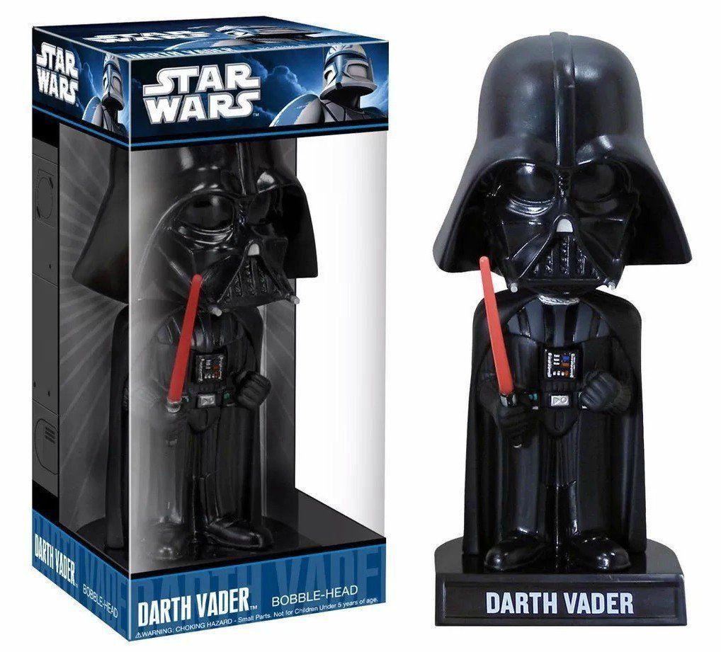 Estátua Wacky Wobblers Darth Vader: Star Wars Bobble-Head - Funko