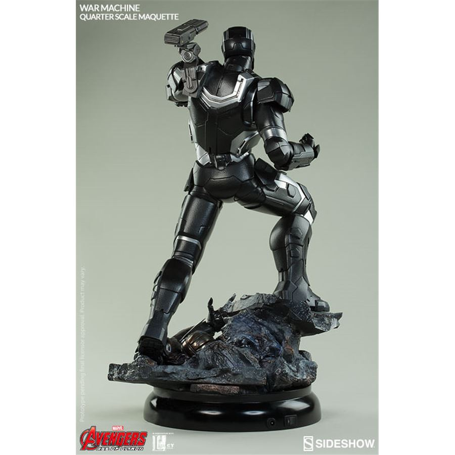 War Machine Age Of Ultron Estátua Escala 1/4 Maquette - Sideshow
