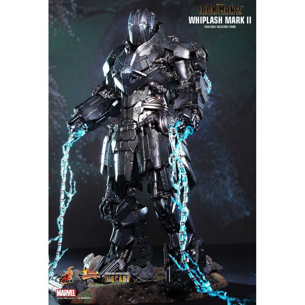 Boneco Whiplash (Chicote Negro) Mark II: Iron Man 2 (Homem de Ferro 2) Diecast Movie Masterpiece Escala 1/6 - Hot Toys - CG