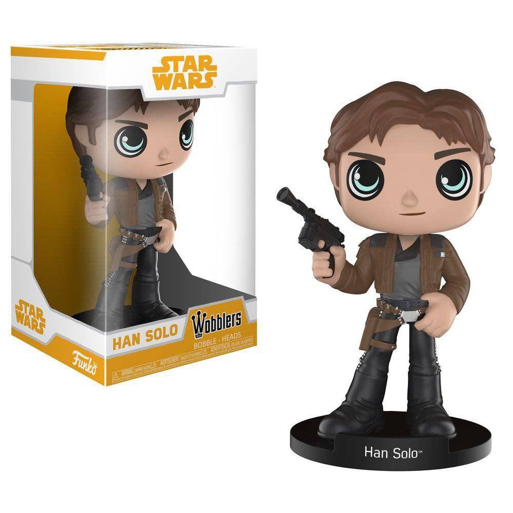 Funko Wobblers Han Solo (Bobble-Head): Solo: A Star Wars Story - Funko