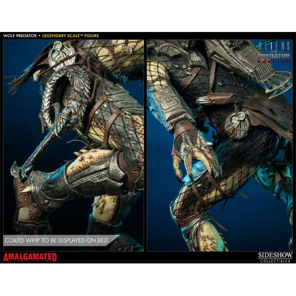 Wolf Predador / Predator Legendary Scale - Sideshow
