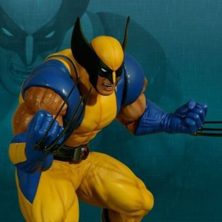 Wolverine Estátua Marvel vs Capcom 3 - Hollywood Collectibles