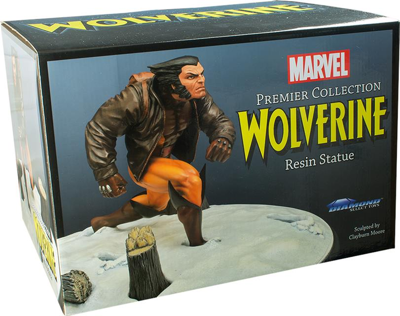 Wolverine In Snow Marvel Premiere Collection Estátua - Diamond Select