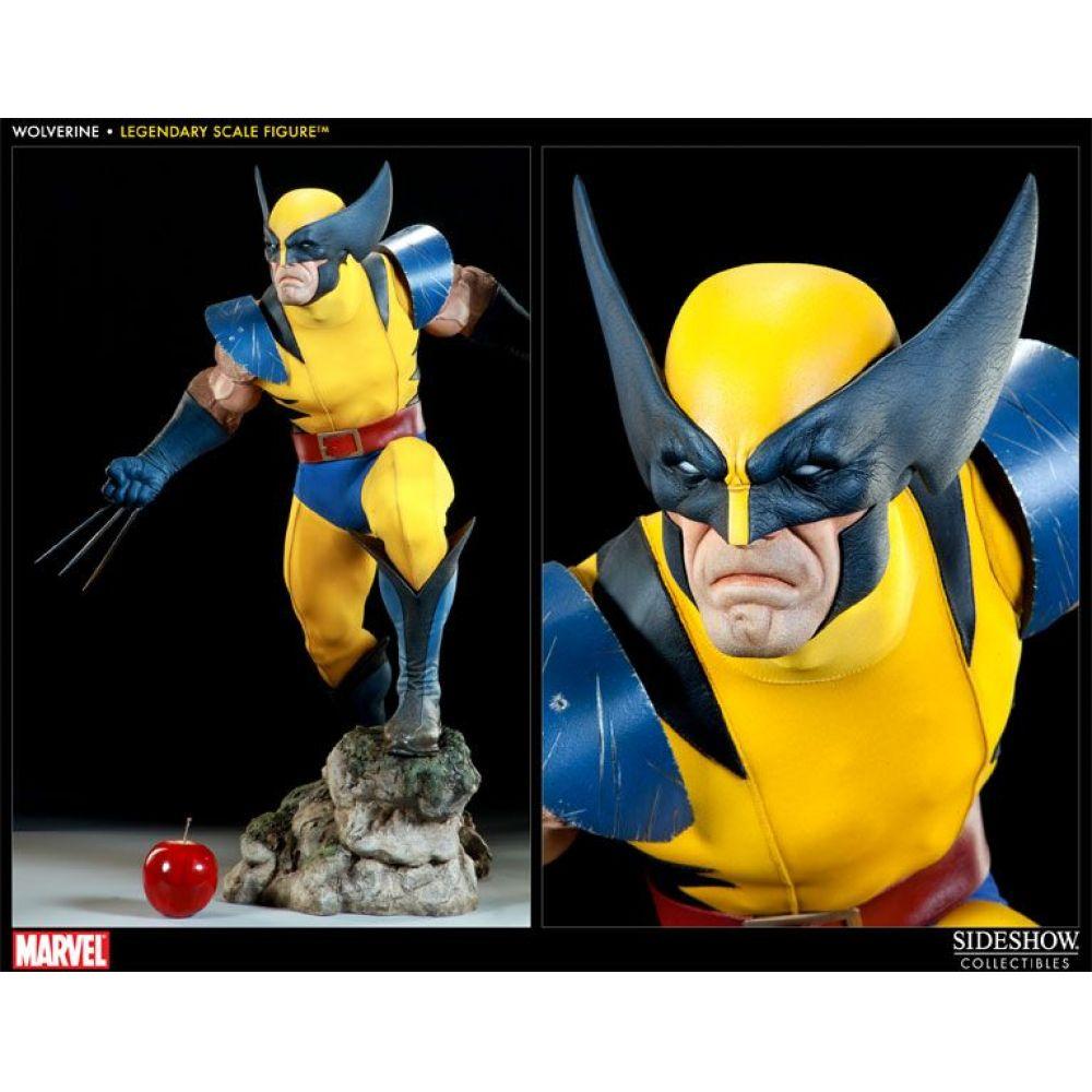 Estátua Wolverine: X-Men Marvel Collectibles (Escala 1/2) - Sideshow