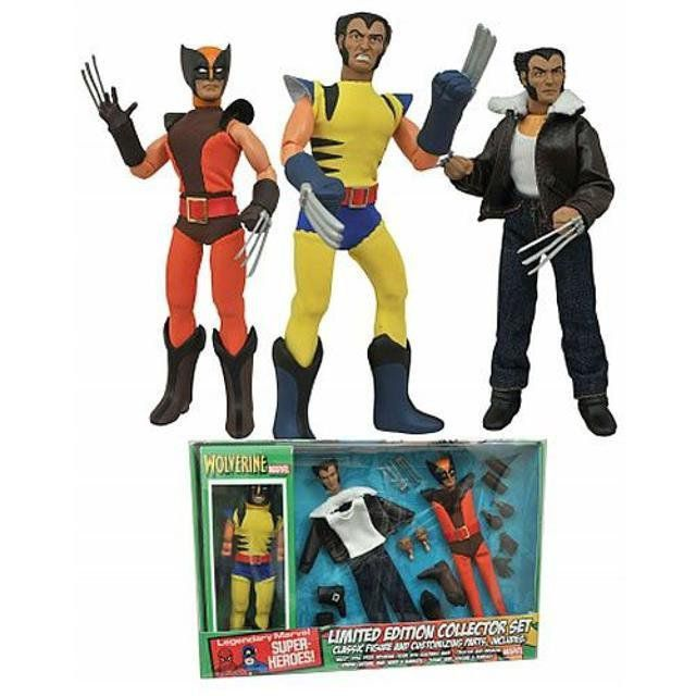 Wolverine Limited Edition Box Set Marvel Cloth Retro - DST