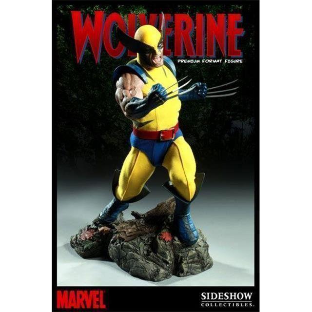 Estátua Wolverine (Premium Format) (Escala 1/4) - Sideshow