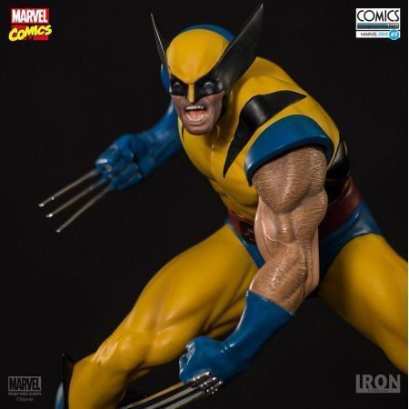Wolverine X-men 1:10 - Iron Studios