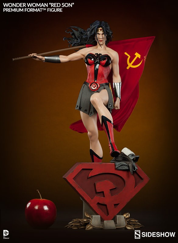 Wonder Woman Red Son Premium Format - Sideshow