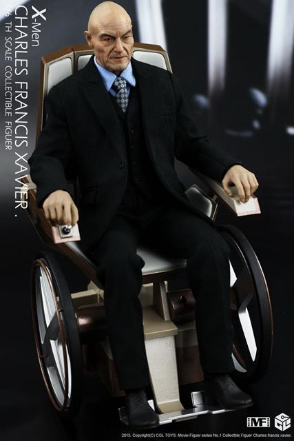 Action Figure Professor Charles Xavier: X-Men Escala 1/6 - ET