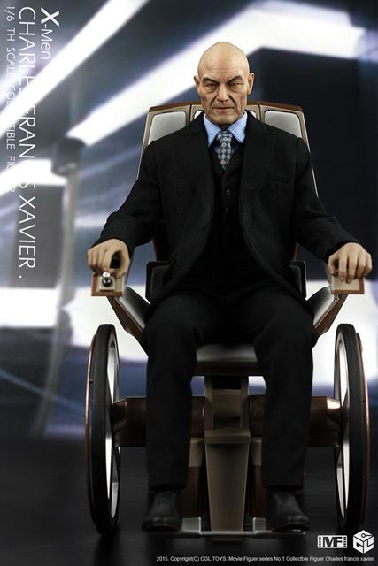Action Figure Professor Charles Xavier: X-Men Escala 1/6 - CGL Toys