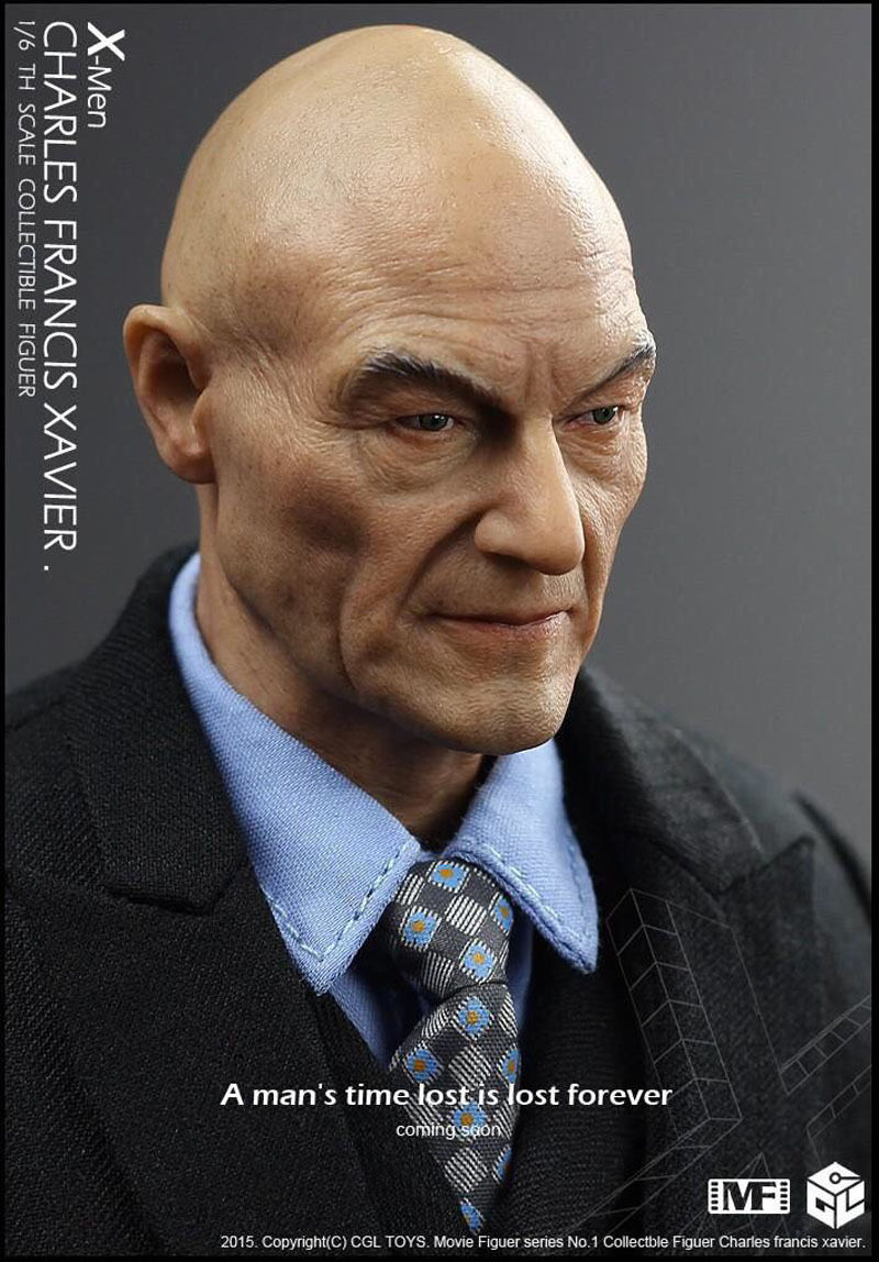 Action Figure Professor Charles Xavier: X-Men Escala 1/6 - ET