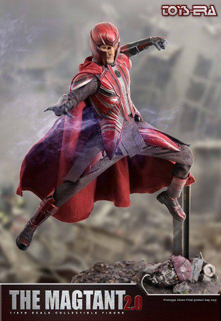 PRÉ VENDA: Boneco Magneto 2.0 (The Magtant): X-Men Escala 1/6 - Toys Era