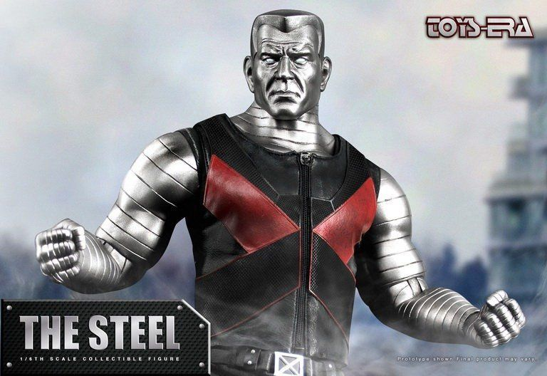 PRÉ VENDA: Boneco Colossus (The Stell): X-Men Escala 1/6 - Toys Era