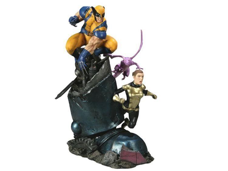 X-Men : Wolverine and Shadowcat Diorama - Sideshow Exclusive