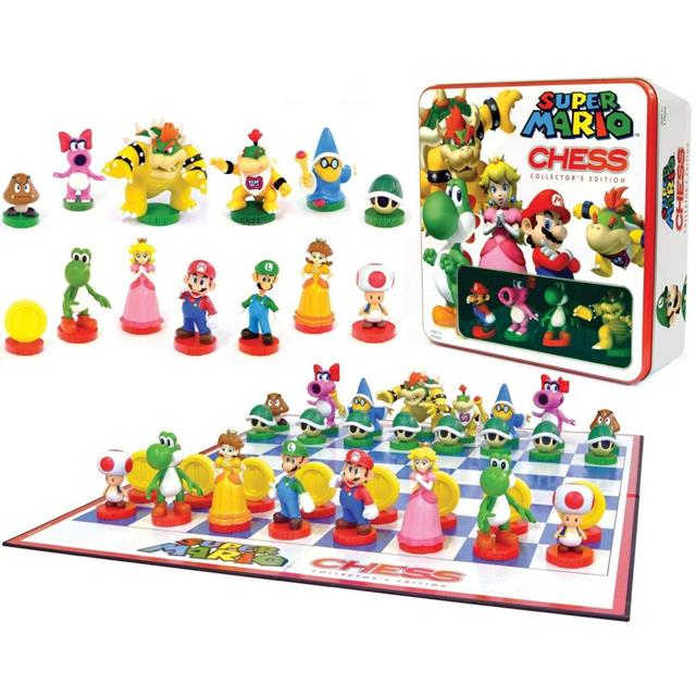 Xadrez Super Mario Collector's Edition - USAopoly