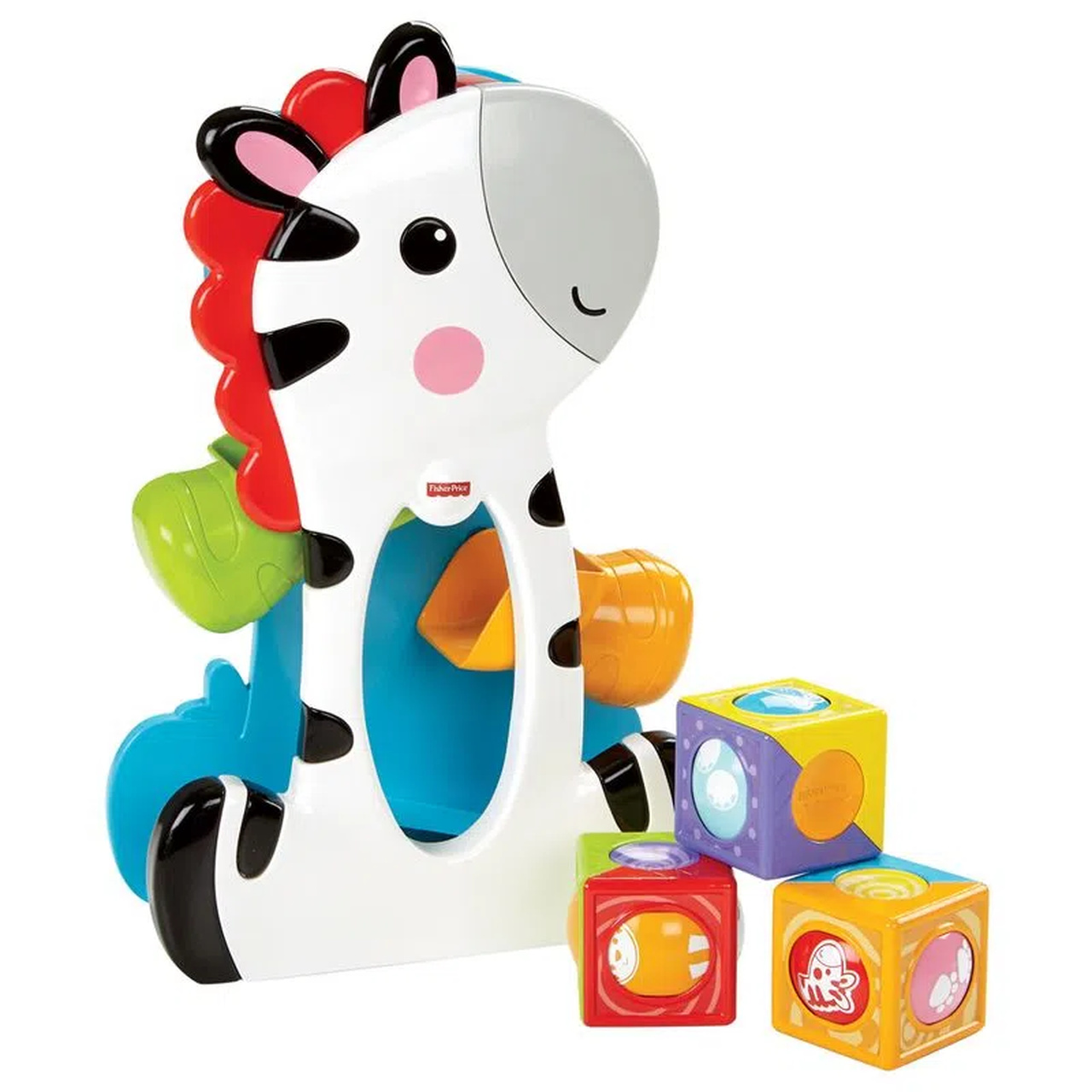 Zebra Blocos Surpresa - Fisher-Price