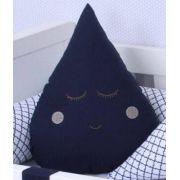 Almofada Gota Azul Marinho
