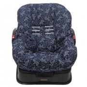 Capa de Bebê Conforto Dupla Face Urso Dimensional Marinho