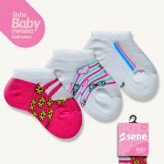 Conjunto de Meias para Bebê Sapatilhas
