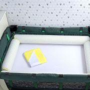 Kit de Berço Desmontável 07 Peças Triângulo Amarelo