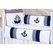 Kit de Berço Navegadores 09 Peças