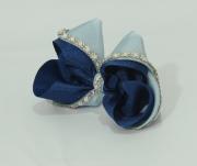 Laço Decorado Marinho com Azul