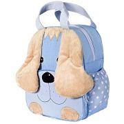 Mochila Infantil Cachorro Azul G.