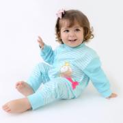 Pijama Sereia Alana Listrado