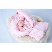 Saída Maternidade Penélope Rosa 3 Peças