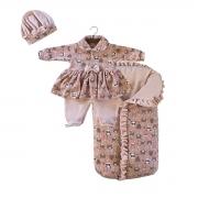 Saída Maternidade Queen Baby 03 Peças