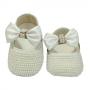 Sapatinho Bebê  Pérola Branca