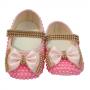 Sapatinho Bebê Pérola Pink