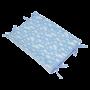 Trocador Anatômico Nuvem Algodão Doce Azul