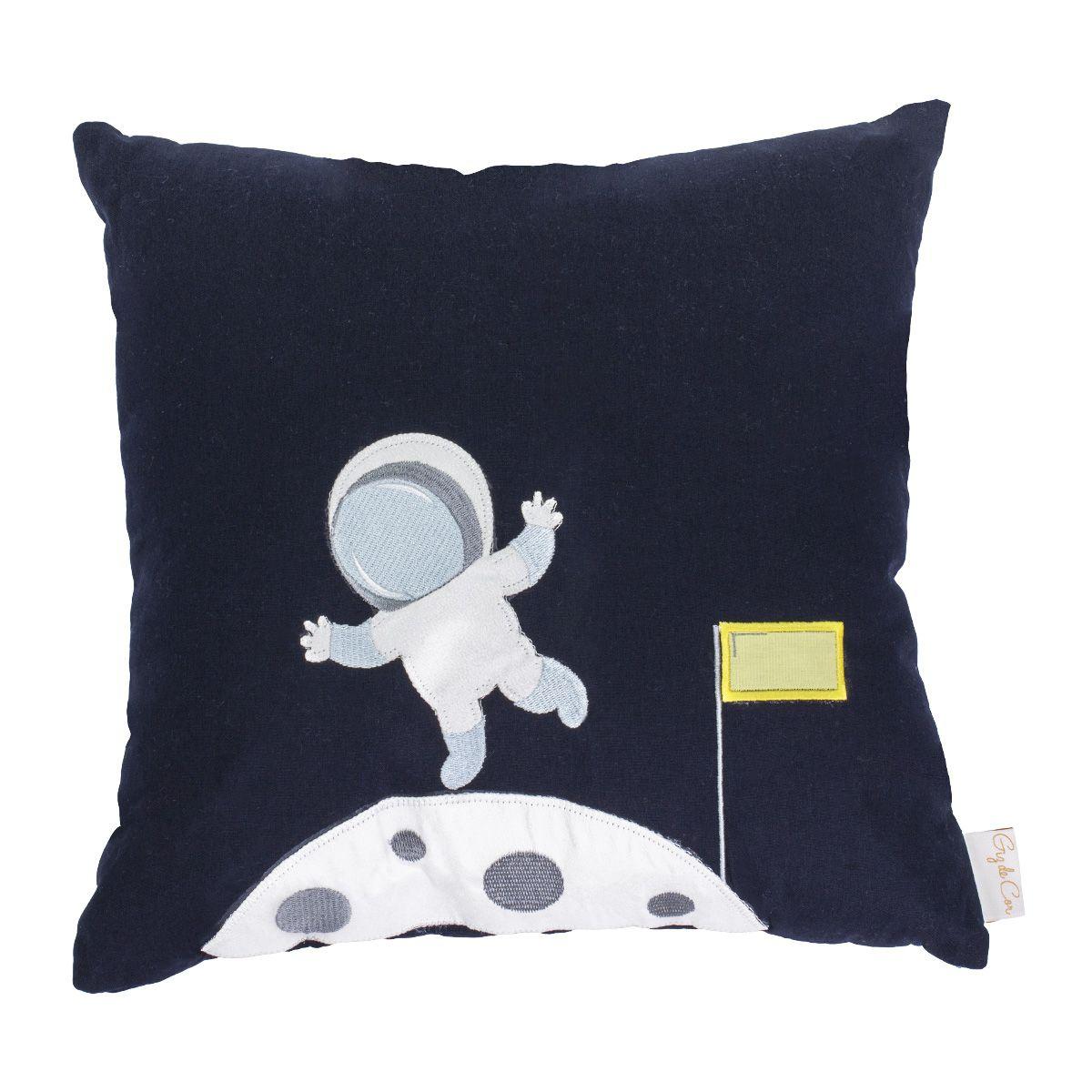 Almofada Astronauta Marinho  - Toca do Bebê