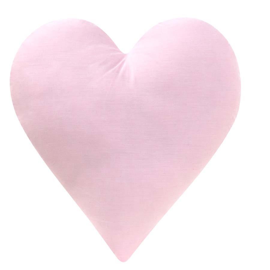 Almofada Coração Rosa