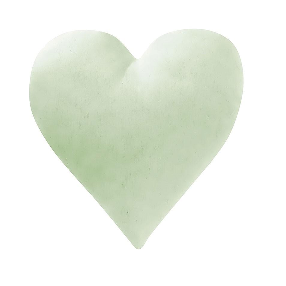 Almofada Coração Verde