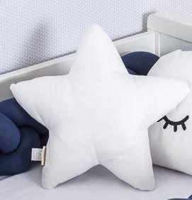 Almofada Estrela Branco