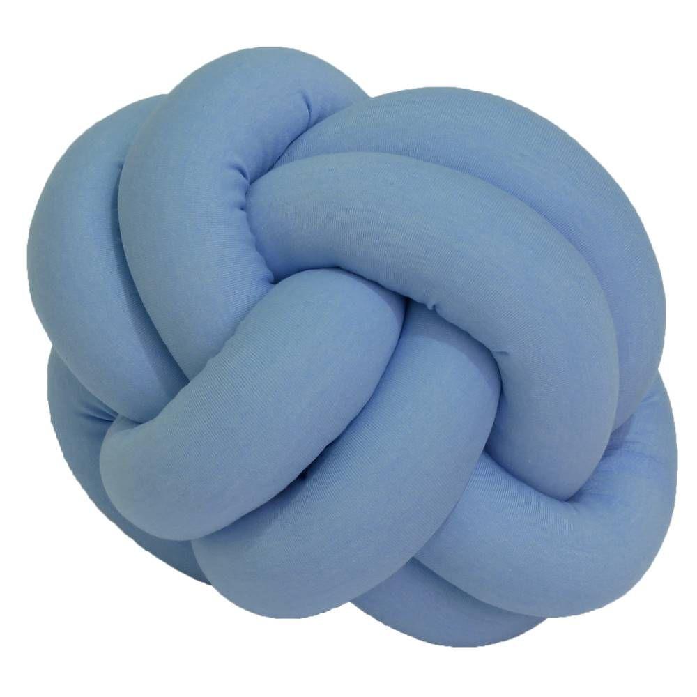 Almofada Nó Azul Bebê P