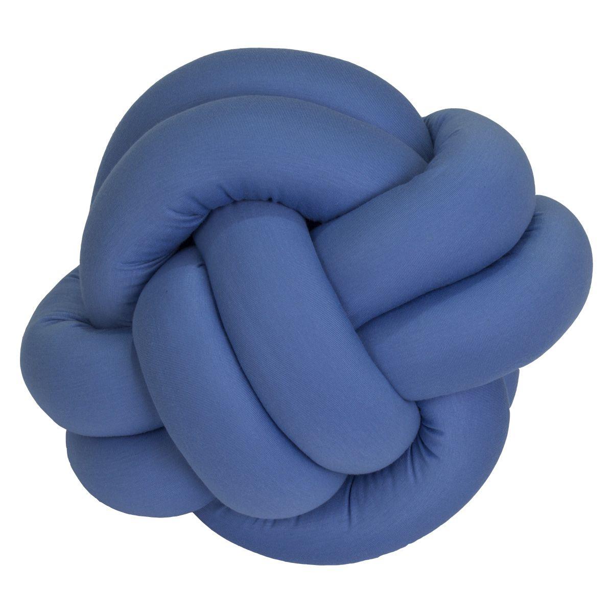 Almofada Nó Azul Cobalto P